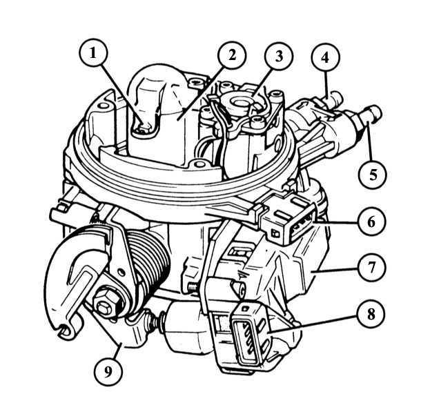 5 — штуцер подача топлива;